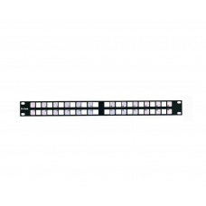 UNSHIELDED BLANK PATCH PANELS FOR ANGLED JACKS